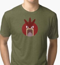 Red Gyarados Ball Tri-blend T-Shirt