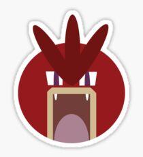 Red Gyarados Ball Sticker