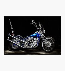 Harley-Davidson Panhead Chopper from The Wild Angels Photographic Print