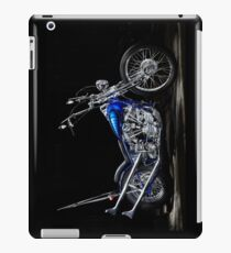 Harley-Davidson Panhead Chopper from The Wild Angels iPad Case/Skin