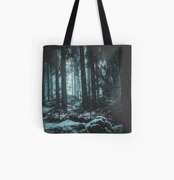 Untouched VIII All Over Print Tote Bag