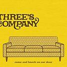 Three's Company by dodadue89