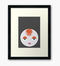Goldeen Ball Framed Print