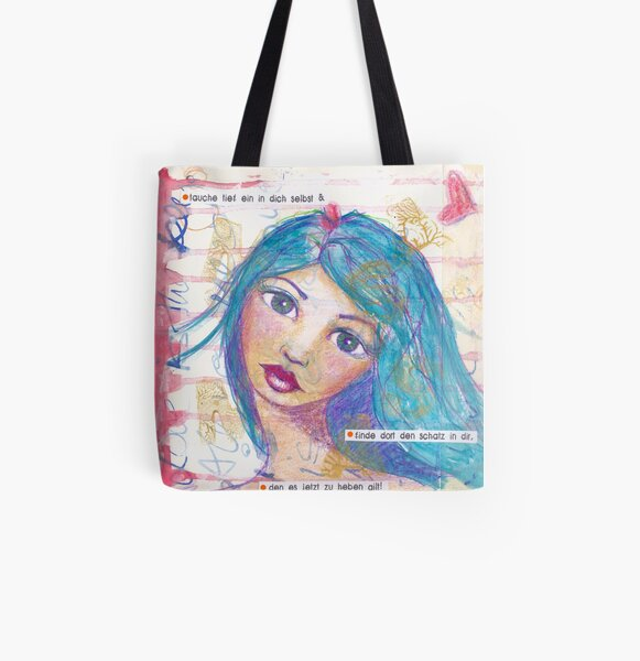 Der Schatz in dir Allover-Print Tote Bag