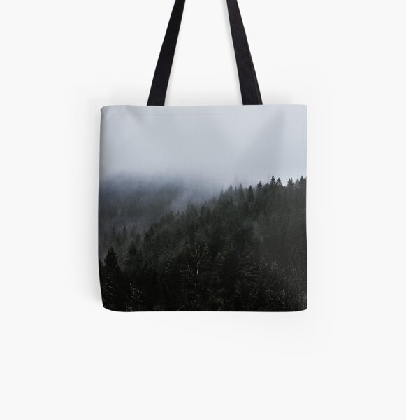 Where Ghosts Gather All Over Print Tote Bag