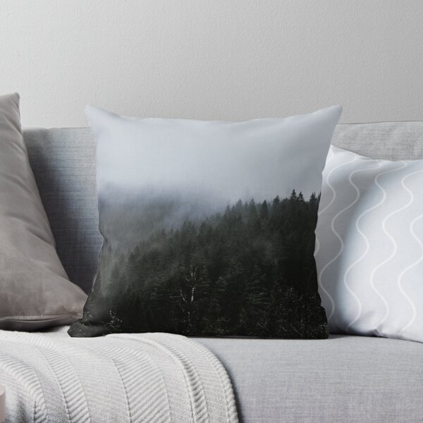 Where Ghosts Gather Throw Pillow