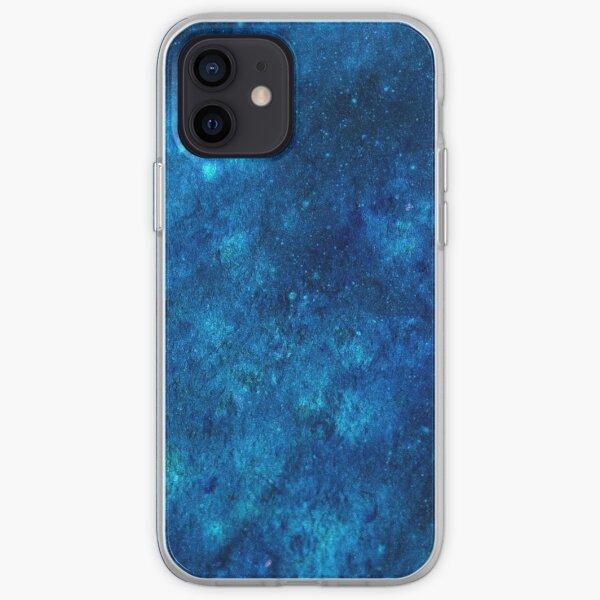 Deep Blue Galaxy iPhone Soft Case