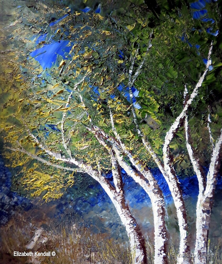 The branches of trees by Elizabeth Kendall