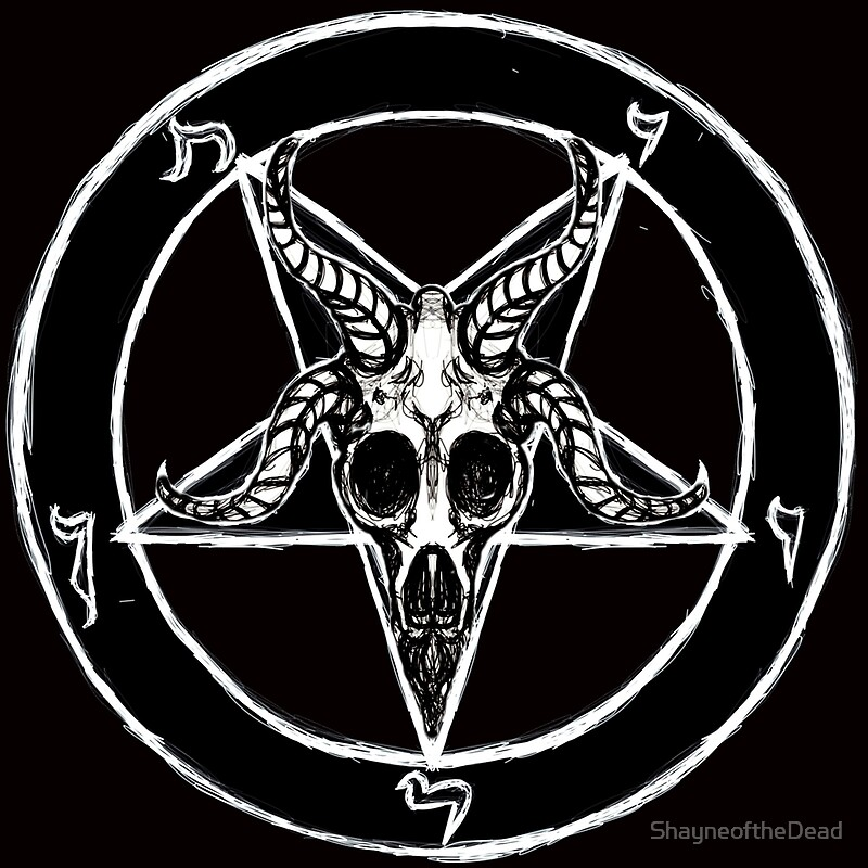 Quot Baphomet Pentagram Quot Posters By Shayneofthedead Redbubble