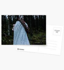 Winter Witch VI Postcards