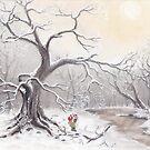 Gnome & Fox by Lisbeth Thygesen