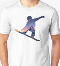 Camiseta ajustada Snowboard