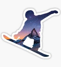 Snowboard 3 Sticker
