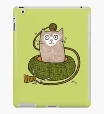 Knit One Purrl One iPad Case/Skin