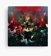 Emotional Abstract Artwork Canvas Print