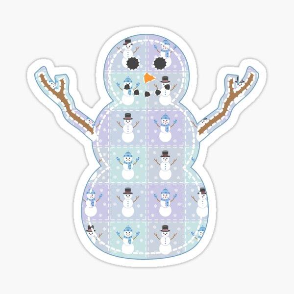 Winter Quilt Sticker