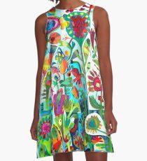 Sommertag A-Linien Kleid