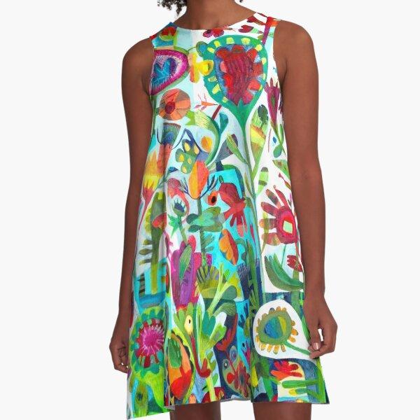 Summer's day A-Line Dress