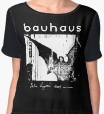 Bauhaus - Bat Wings - Bela Lugosi's Dead Chiffon Top