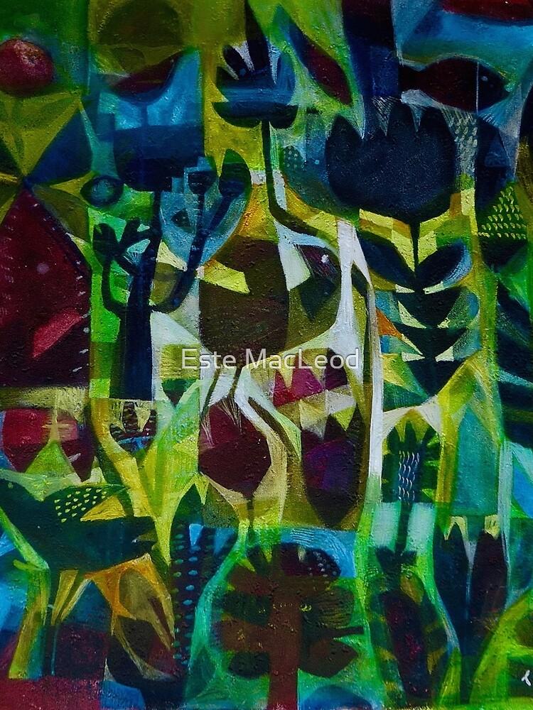 Fantasy birds by EsteMacleod