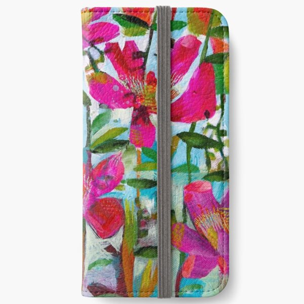 Summer roses iPhone Wallet