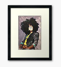 Naturally David Framed Print