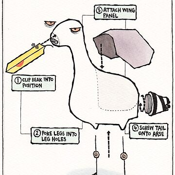 Seagull Assembly Instructions by dotmund