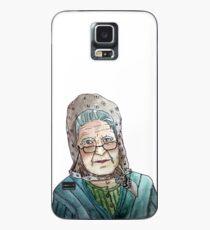 Mujer portuguesa Funda/vinilo para Samsung Galaxy