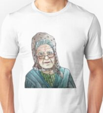 Mujer portuguesa Camiseta unisex