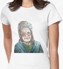 Mujer portuguesa Camiseta entallada para mujer