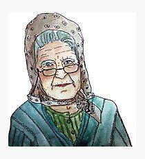 Mujer portuguesa Lámina fotográfica