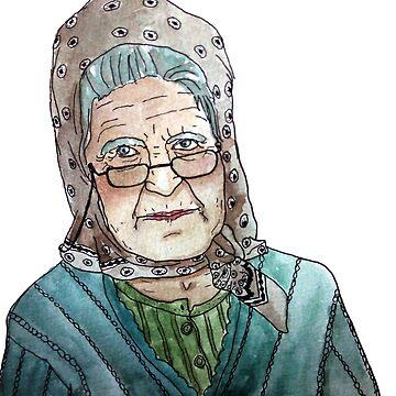 Mujer portuguesa de laramaktub