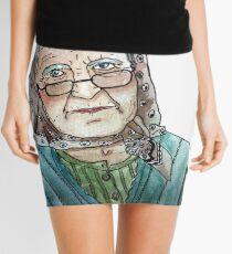 Mujer portuguesa Minifalda