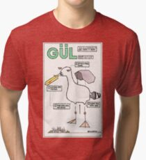 Seagull Assembly Instructions Tri-blend T-Shirt