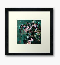 Contemporary Abstract Art Framed Print