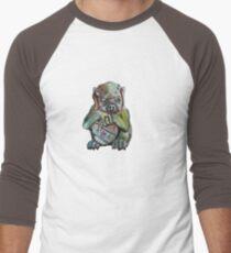 Gargola Camiseta ¾ bicolor para hombre