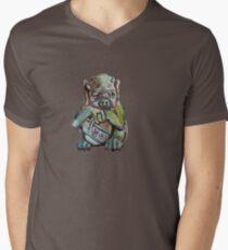 Gargola Camiseta para hombre de cuello en v