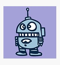 robot android funny Photographic Print