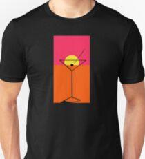 Pop Art Martini 2 Endless Unisex T-Shirt