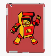 arcade robot gaming gamer funny geek  iPad Case/Skin