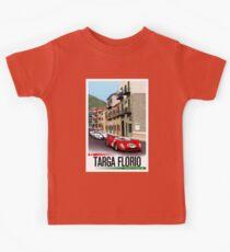 TARGA FLORIO; Vintage Grand Prix Auto Print Kids Clothes