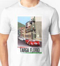 TARGA FLORIO; Vintage Grand Prix Auto Print T-Shirt
