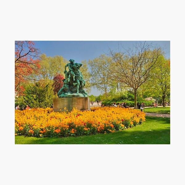 Jardin du Luxembourg Photographic Print