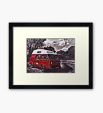 High Top Framed Print