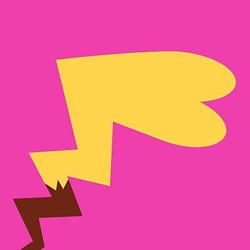 Female Pikachu Tail by geekyshop