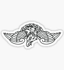 Adam Levine Eagle Tattoo Sticker