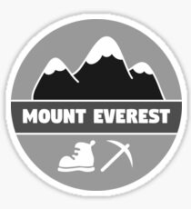 Mount Everest Sticker