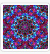 Fractal Floral Abstract G86 Sticker