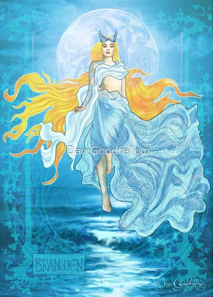 Celtic Goddess - Branwen by Dan Goodfellow