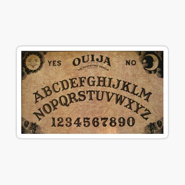 Ouija Board Sticker Sticker